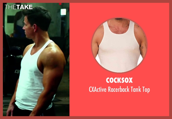 Cocksox top from Pain & Gain seen with Mark Wahlberg (Daniel Lugo)