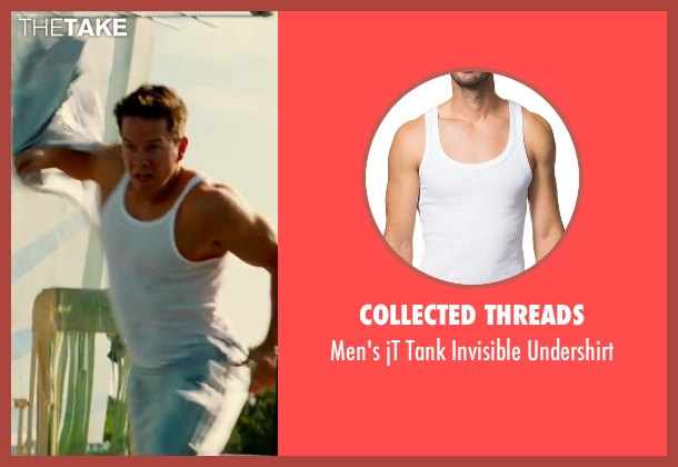 Collected Threads undershirt from Pain & Gain seen with Mark Wahlberg (Daniel Lugo)
