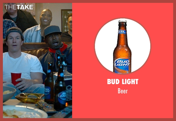 Bud Light beer from Ted 2 seen with Mark Wahlberg (John Bennett)