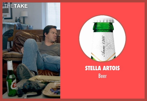 Stella Artois beer from Ted 2 seen with Mark Wahlberg (John Bennett)