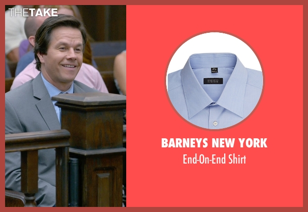 Barneys New York blue shirt from Ted 2 seen with Mark Wahlberg (John Bennett)