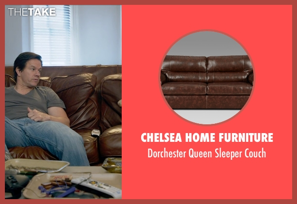 Chelsea Home Furniture couch from Ted 2 seen with Mark Wahlberg (John Bennett)