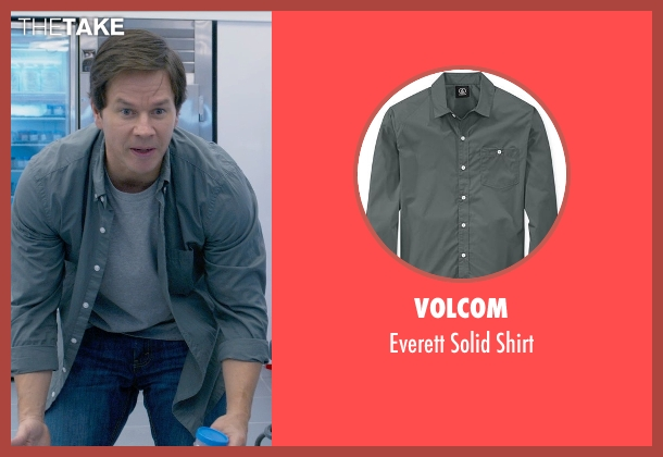 Volcom gray shirt from Ted 2 seen with Mark Wahlberg (John Bennett)