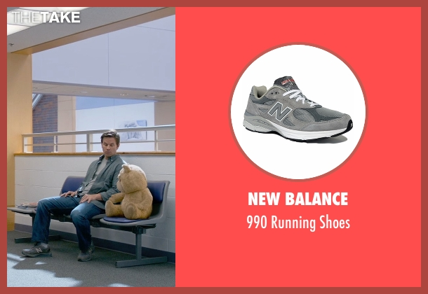 New Balance gray shoes from Ted 2 seen with Mark Wahlberg (John Bennett)
