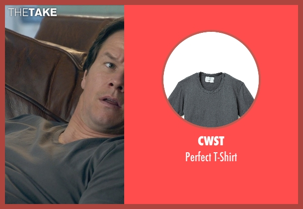 CWST gray t-shirt from Ted 2 seen with Mark Wahlberg (John Bennett)