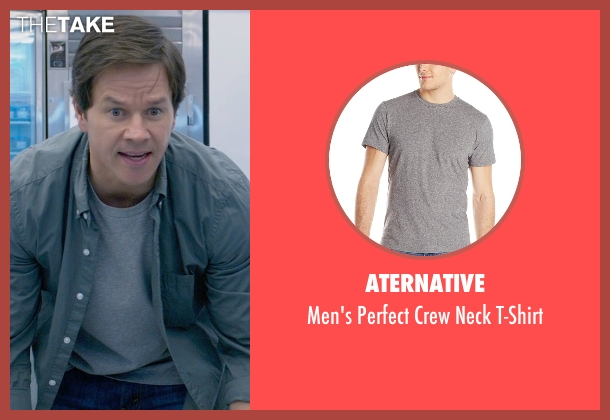 Aternative gray t-shirt from Ted 2 seen with Mark Wahlberg (John Bennett)