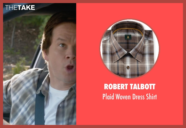 Robert Talbott green shirt from Ted 2 seen with Mark Wahlberg (John Bennett)
