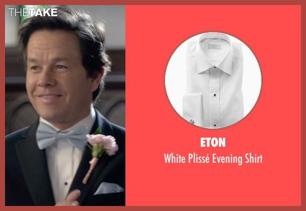 Eton white shirt from Ted 2 seen with Mark Wahlberg (John Bennett)