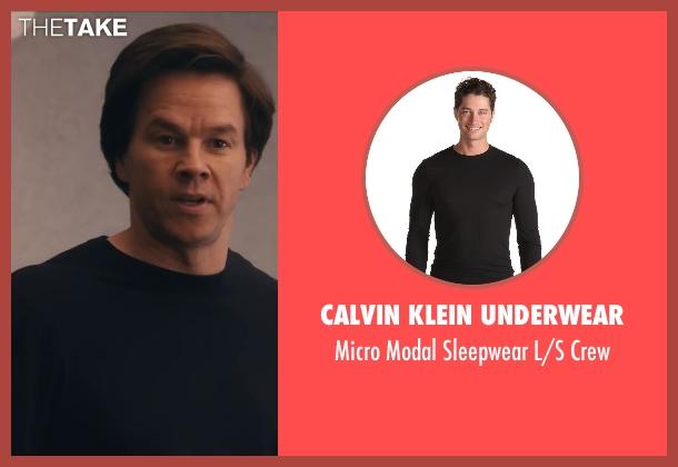 Calvin Klein Underwear black crew from Ted seen with Mark Wahlberg (John Bennett)
