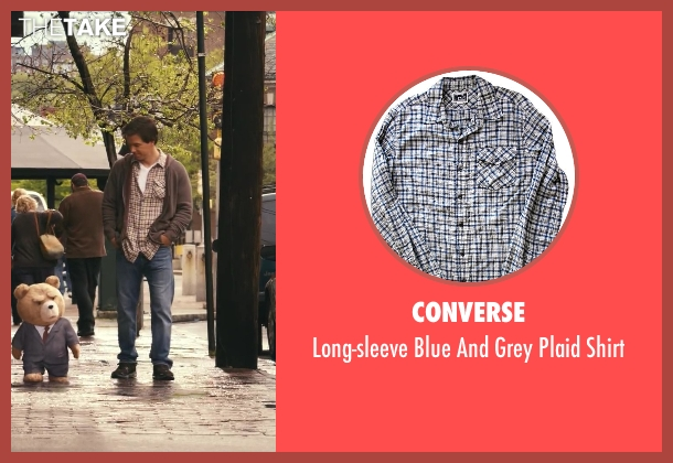 Converse gray shirt from Ted seen with Mark Wahlberg (John Bennett)