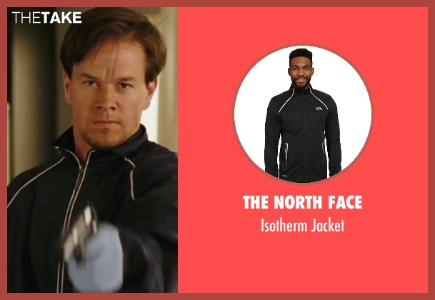 The North Face black jacket from The Departed seen with Mark Wahlberg (Dignam)