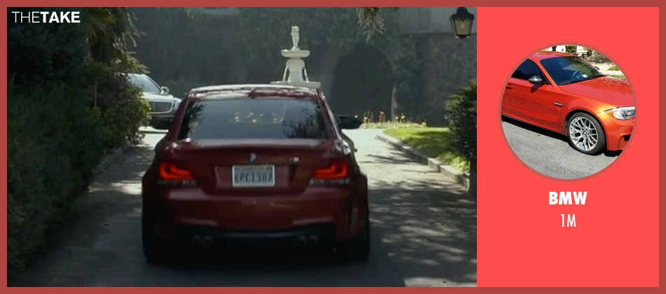 BMW 1m from The Gambler seen with Mark Wahlberg (Jim Bennett)
