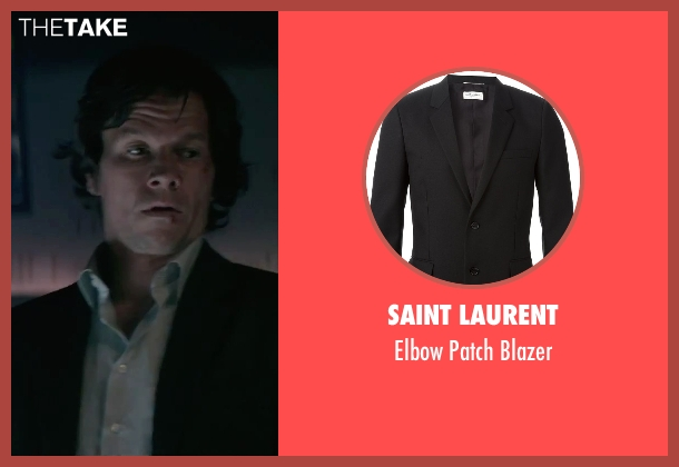 Saint Laurent black blazer from The Gambler seen with Mark Wahlberg (Jim Bennett)