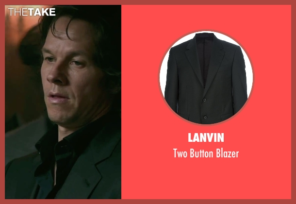 Lanvin black blazer from The Gambler seen with Mark Wahlberg (Jim Bennett)