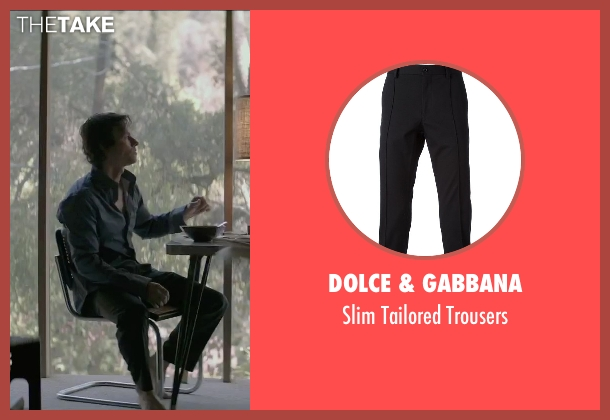 Dolce & Gabbana black trousers from The Gambler seen with Mark Wahlberg (Jim Bennett)