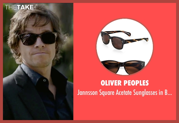 Oliver Peoples brown tortoise from The Gambler seen with Mark Wahlberg (Jim Bennett)