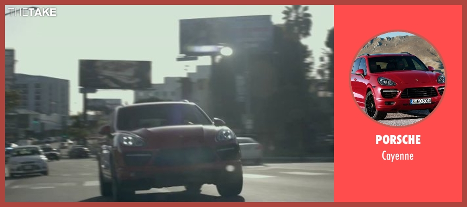 Porsche cayenne from The Gambler seen with Mark Wahlberg (Jim Bennett)