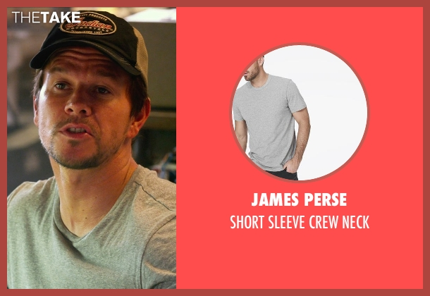 JAMES PERSE gray neck from Transformers: Age of Extinction seen with Mark Wahlberg (Cade Yeager)