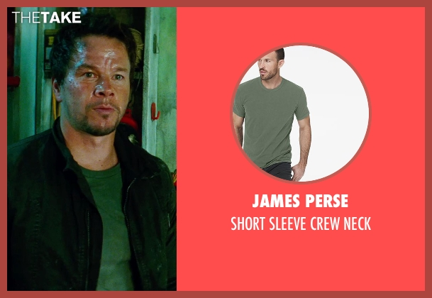 JAMES PERSE green neck from Transformers: Age of Extinction seen with Mark Wahlberg (Cade Yeager)
