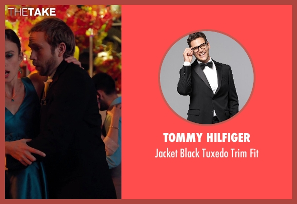 Tommy Hilfiger black fit from Laggies seen with Mark Webber (Anthony)