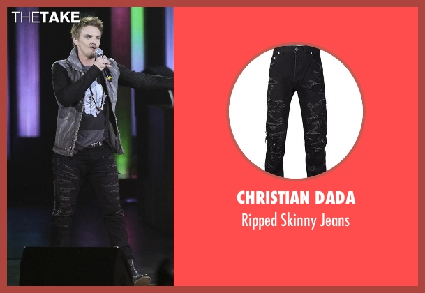 Christian Dada black jeans from Nashville seen with Markus Keen (Riley Smith)