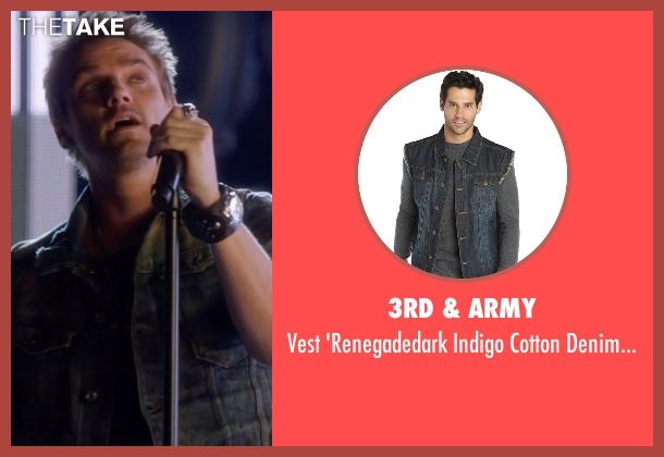 3rd & Army gray vest from Nashville seen with Markus Keen (Riley Smith)