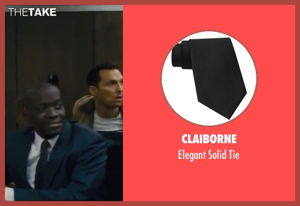 Claiborne black tie from Interstellar seen with Marlon Sanders (Jenkins)