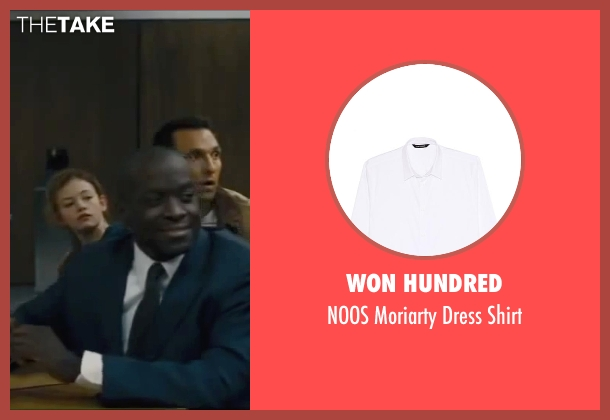 Won Hundred white shirt from Interstellar seen with Marlon Sanders (Jenkins)