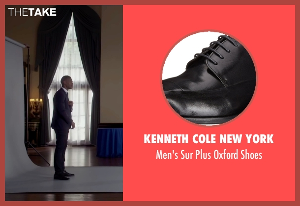Kenneth Cole New York black shoes from Fifty Shades of Black seen with Marlon Wayans (Christian Black)