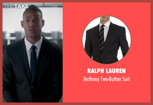 Ralph Lauren black suit from Fifty Shades of Black seen with Marlon Wayans (Christian Black)