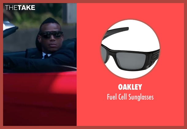 Oakley black sunglasses from Fifty Shades of Black seen with Marlon Wayans (Christian Black)