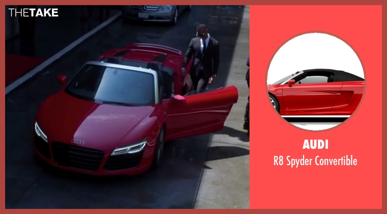 Audi convertible from Fifty Shades of Black seen with Marlon Wayans (Christian Black)