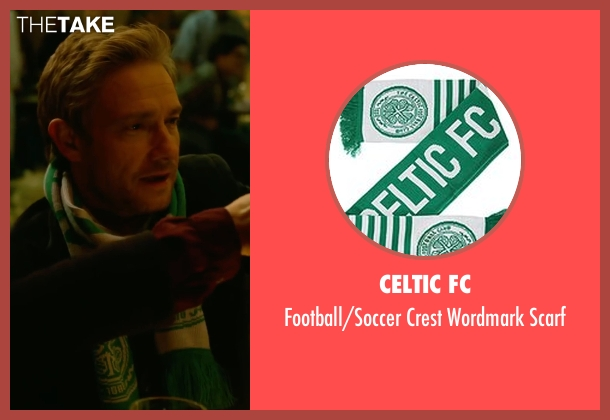 Celtic FC green scarf from Whiskey Tango Foxtrot seen with Martin Freeman (Iain MacKelpie)