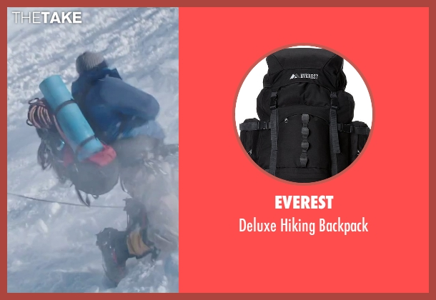 Everest black backpack from Everest seen with Martin Henderson (Andy 'Harold' Harris)