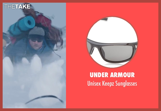 Under Armour black sunglasses from Everest seen with Martin Henderson (Andy 'Harold' Harris)