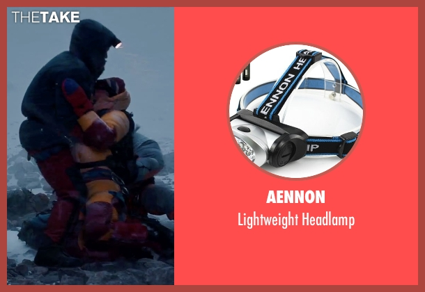 Aennon headlamp from Everest seen with Martin Henderson (Andy 'Harold' Harris)