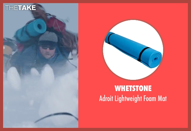 Whetstone mat from Everest seen with Martin Henderson (Andy 'Harold' Harris)