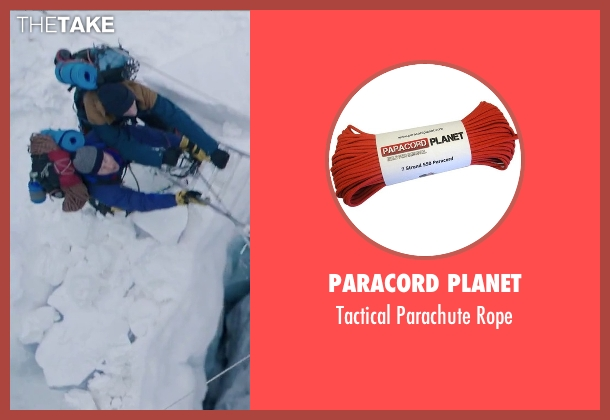 Paracord Planet rope from Everest seen with Martin Henderson (Andy 'Harold' Harris)