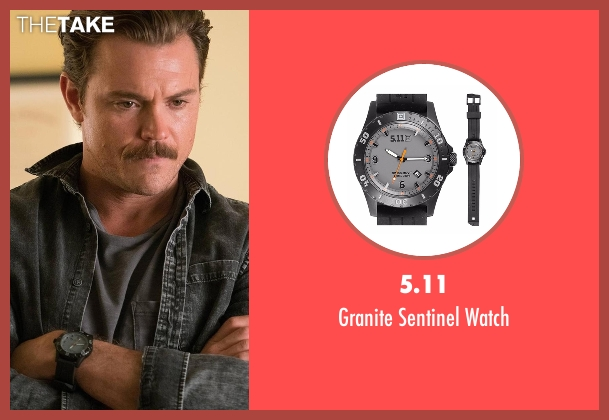 5.11 black watch from Lethal Weapon seen with Martin Riggs (Clayne Crawford)