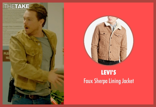 Levi's brown jacket from Lethal Weapon seen with Martin Riggs (Clayne Crawford)
