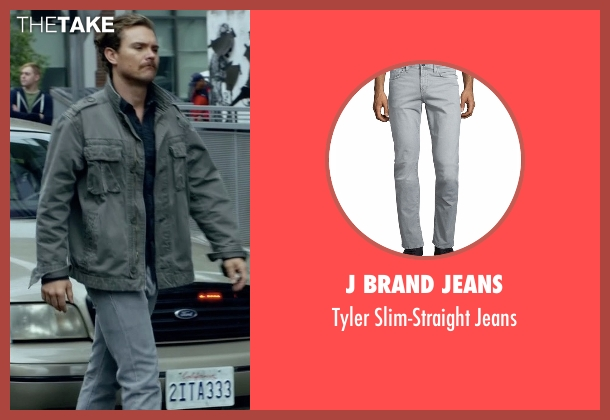 J Brand Jeans gray jeans from Lethal Weapon seen with Martin Riggs (Clayne Crawford)