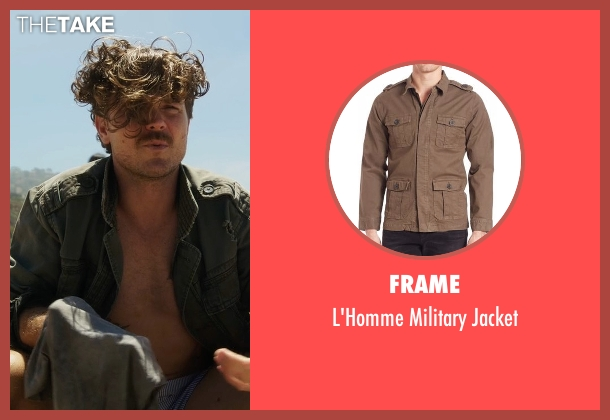 Frame green jacket from Lethal Weapon seen with Martin Riggs (Clayne Crawford)