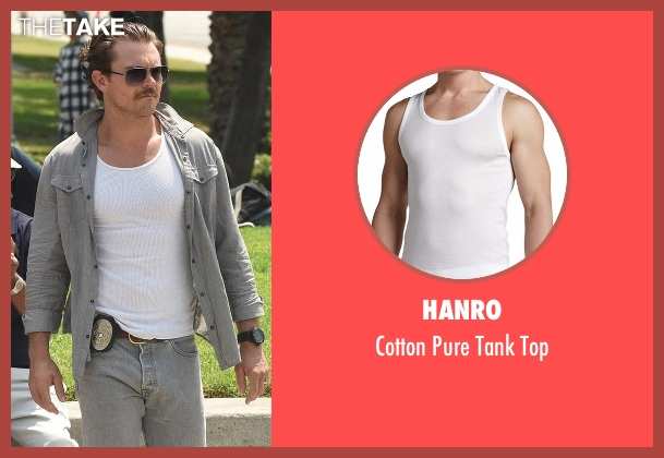 Hanro white top from Lethal Weapon seen with Martin Riggs (Clayne Crawford)