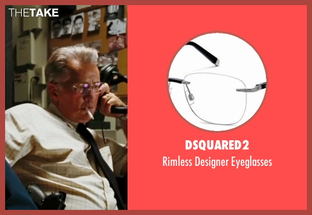 Dsquared2 eyeglasses from The Departed seen with Martin Sheen (Queenan)