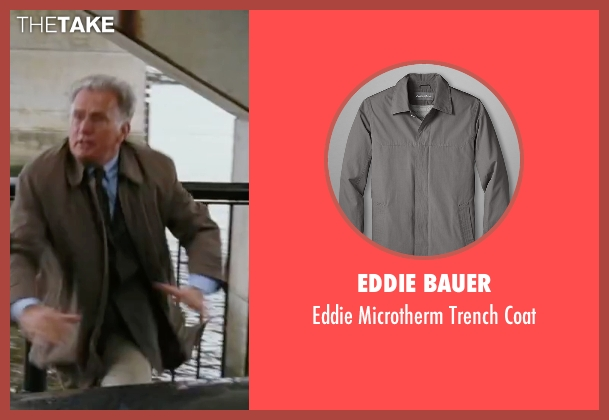 Eddie Bauer gray coat from The Departed seen with Martin Sheen (Queenan)
