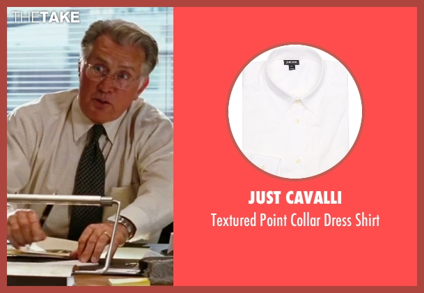 Just Cavalli white shirt from The Departed seen with Martin Sheen (Queenan)