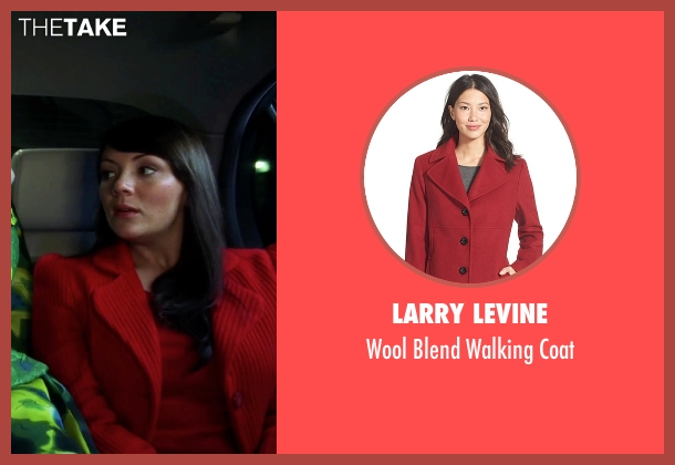 Larry Levine red coat from Love Actually seen with Martine McCutcheon (Natalie)