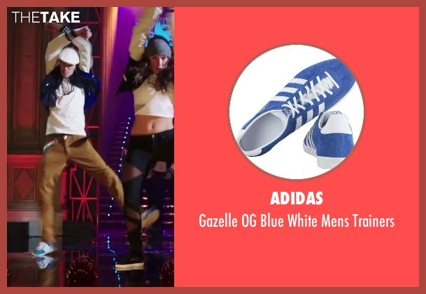 Adidas blue trainers from Step Up: All In seen with Martín Lombard (The Santiago Twins)