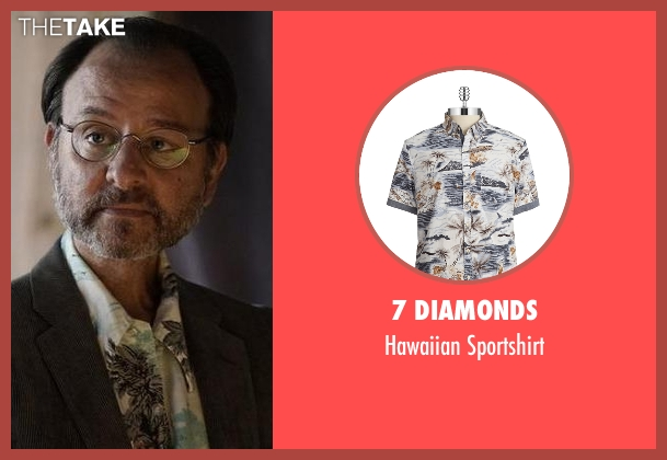 7 Diamonds sportshirt from The Blacklist seen with Marvin Gerard (Fisher Stevens)