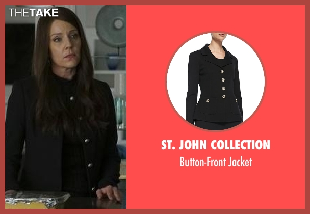 St. John Collection black jacket from Pretty Little Liars seen with Mary Drake (Andrea Parker)